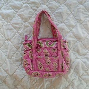 Vera Bradley Bags - RETIRED Vera Bradley small Bermuda Pink hand bag